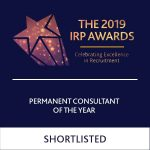 Shortlisted Permanent Consultant of the Year